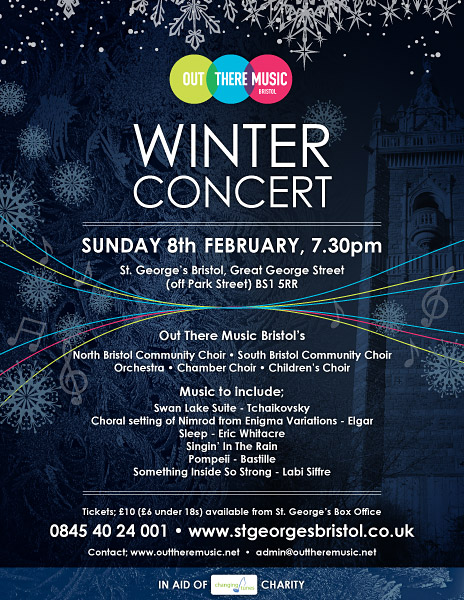 Winter Concert   SUNDAY 8th FEBRUARY, 7.30pm
