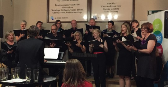 Out There Music Bristol Chamber Choir – Summer Song Soirée, 24th June 2016